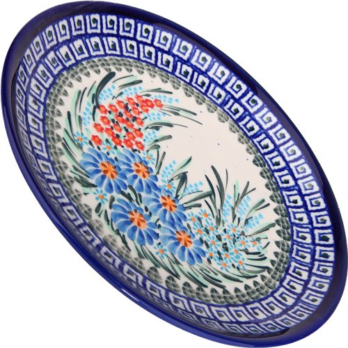 Polish Pottery Ceramika Boleslawiec 1102/169 Dessert Plate 19, 7-1/2-Inch in Diameter (Polish Decorative Plates compare prices)