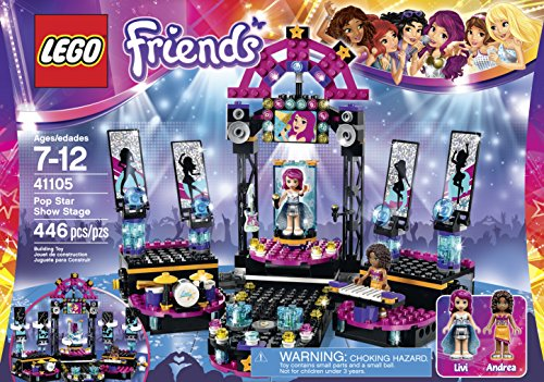 LEGO Friends 41105 Pop Star Show Stage Building Kit JungleDealsBlog.com