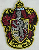 Harry Potter House of Gryffindor Hogwarts Crest Patch 4 3/4""
