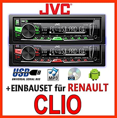 poste radio pour renault clio 3 autoradios prix imbattable. Black Bedroom Furniture Sets. Home Design Ideas