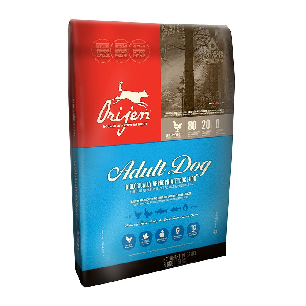 Orijen Dog Food Nutrition