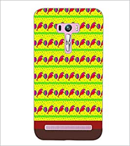 PrintDhaba Dolphin Pattern D-1850 Back Case Cover for ASUS ZENFONE SELFIE ZD551KL (Multi-Coloured)