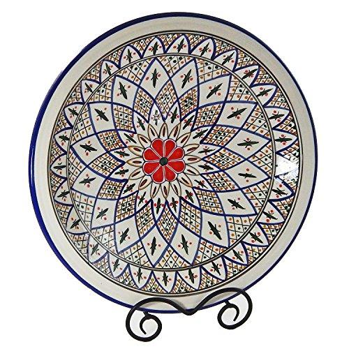 Le Souk Ceramique Large Serving Bowl, Tabarka Design (Commercial Pasta Bowls compare prices)