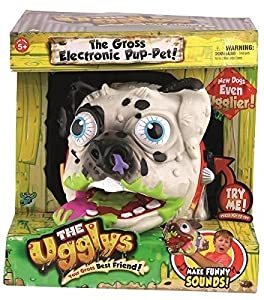 The Ugglys Series 2 Electronic Pet - BELCHER THE DALMATION *RED COLLAR*