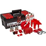 Brady Personal Lockout Kit for Common, Breakers, Valves, and Plugs