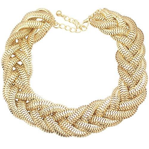 QQ-Fashion-Vintage-Gold-Egyptian-Cleopatra-Style-Bold-Snake-Braided-Chain-Statement-Bib-Necklace197