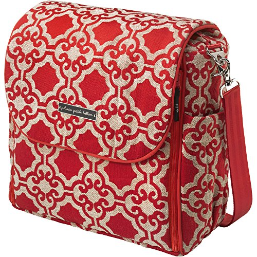 Petunia Pickle Bottom Boxy Backpack in Persimmon Spice, Orange - 1