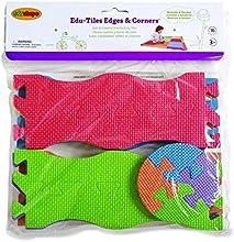 Edushape Edu-Tiles 16 Piece Edges amp Corners Set for Playmats Discontinued by Manufacturer
