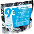 QRP X9C Qualatrile Nitrile Latex-Free Finger Cot, Powder Free, 3 mil Thickness, Large, White (Pack of 720)