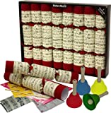 """Robin Reed 8 x Extra Large (14"""") Hand Bell Musical Christmas Crackers"""