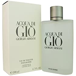 Acqua Di Gio By Giorgio Armani For Men. Eau De Toilette Spray 6.7 Ounces