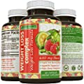 Natural Weight Loss Blend - Garcinia Cambogia + Raspberry Ketones + Green Coffee Bean - Boost Metabolism & Burn Body Fat - Antioxidant Rich - For Women & Men - 60 Capsules - By California Products