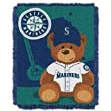 MLB Seattle Mariners Field Woven Jacquard Baby Throw Blanket, 36x46-Inch Amazon.com
