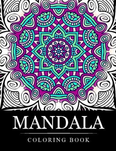 Mandala Coloring Book Stress Relieving Patterns