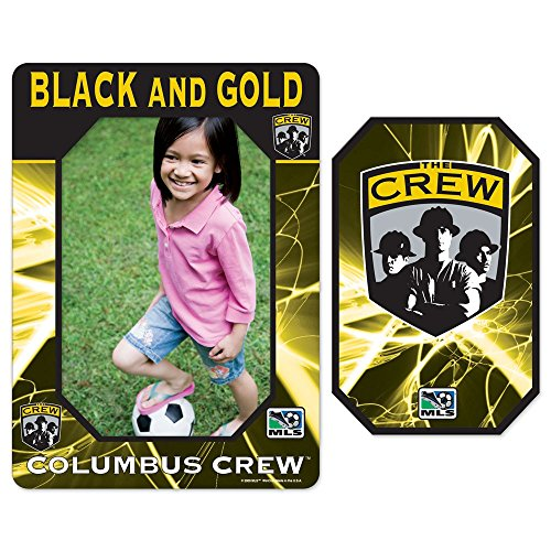 COLUMBUS CREW OFFICIAL LOGO 4X6 PHOTO FRAME MAGNET