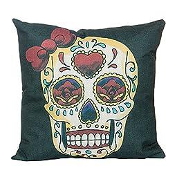 Pillowcase,Home Cotton LinenCushion Throw Pillow Covers Pillowslip Case 18\