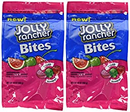 Jolly Rancher Bites Soft & Chewy Candy, 10-Ounce (Pack of 2)
