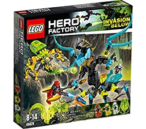 Hero Factory - Queen Beast vs. Furno, Evo and Stormer - 44029