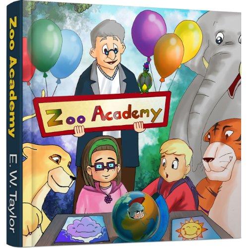 Couverture du livre La Leçon d'Histoire de M. Kahn - Volume 1 (Zoo Academy - Français)