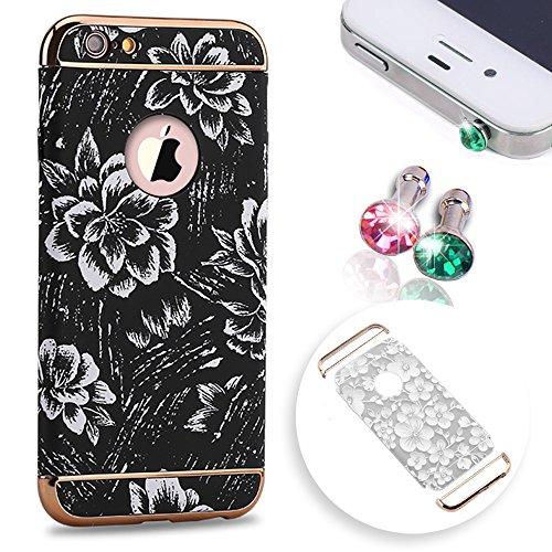 iphone-6s-plus-hulleiphone-6-plus-schutzhulleiphone-6s-plus-casepershoo-retro-schwarz-weiss-floral-b