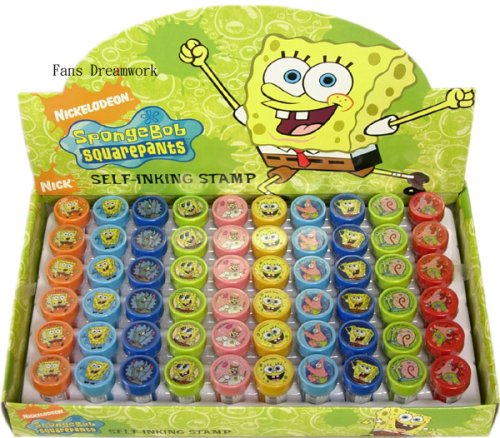 Nickelodeon Spongebob Squarepants Stamp Art Set x 10 pcs