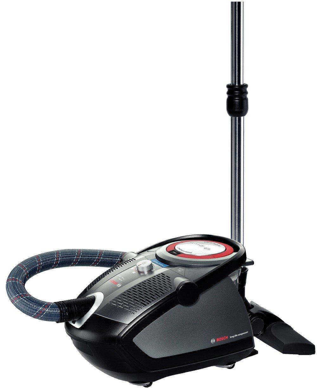 Bosch BGS6PRO1 Bodenstaubsauger Roxx&x Home Professional / ohne Beutel / compressor technology / Hartbodendüse / Turbobürste / 2teiliges ZubehörÜberprüfung und Beschreibung