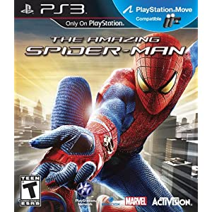 The Amazing Spider-man PS3 Video Game