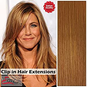 clip in hair extensions strawberry blonde 27
