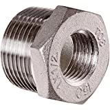 Stainless Steel 304 Cast Pipe Fitting, Hex Bushing, Class 150, NPT Male X Female