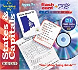I'm Learning My States & Capitals with CD (Audio) (Flash Card + Music CD Learning Kit)