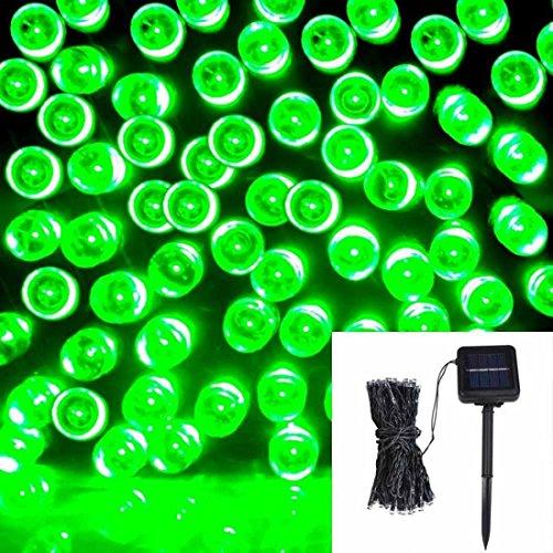 1Pc Profound Modern 200x LED Solar Power Nightlight Romantic Tree Outdoor Lamp Xmas Props Colors Green