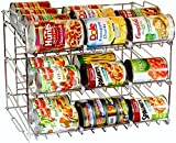 DecoBros Supreme Stackable Can Rack Organizer, Chrome Finish (Kitchen)