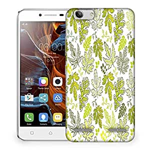 Snoogg Abstract Multicolor Leaves Designer Protective Phone Back Case Cover For Lenovo K5 Vibe