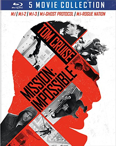Blu-ray : Mission: Impossible: The 5 Movie Collection (Boxed Set, Widescreen, Repackaged, Dolby, AC-3)