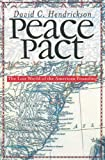 Peace Pact: The Lost World of the American Founding (American Political Thought (University Press of Kansas))