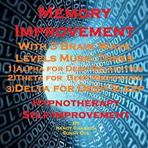 Memory Improvement with Three Brainwave Music Recordings Speech