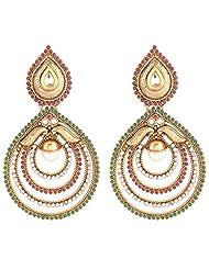 Gehna Fashion Fancy Long Earring - B00OB7SD4S