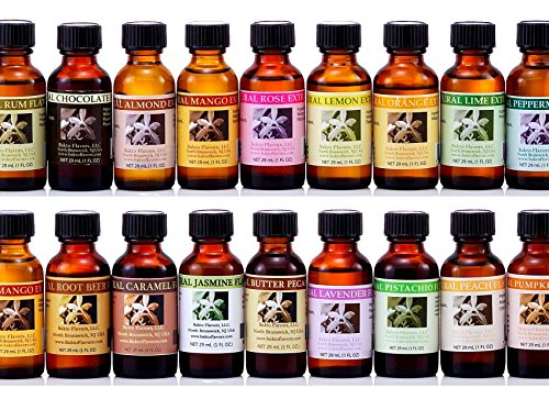 Bakto Flavors - Natural Flavors & Extracts - PICK YOUR OWN FLAVORS - Box of 6 - PLEASE SCROLL DOWN TO