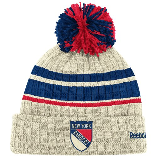 NHL New York Rangers Winter Classic Cuffed Knit Hat, Royal, One Size Fits All at Amazon.com