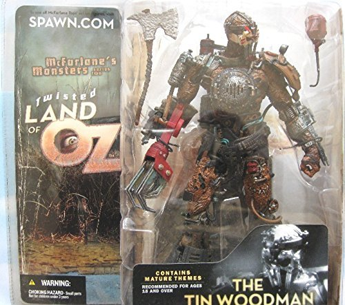 Spawn McFarlane Monsters Twisted Land of Oz Tin Woodman Wood Man Includes Chapter 6 & 7 Of Twisted Land of Oz Mythology by Unknown