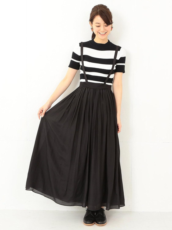 Amazon.co.jp: (レイビームス) Ray BEAMS / サス付き ギャザーマキシスカート: 服&ファッション小物通販