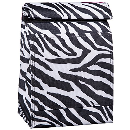 Home Essentials Lunch Tote RL Down Blk/wht/hpk - 1