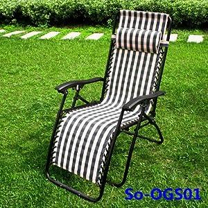 Chaise longue bain de soleil, chaise de jardin, transat ...