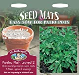 Mr. Fothergill's 12081 5 Count Plain Leaved 2 Parsley Herb Seed Mat