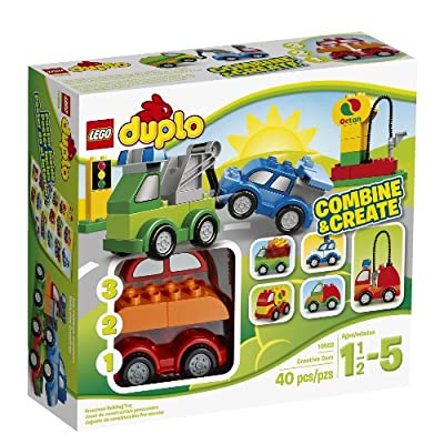 LEGO DUPLO My First 10552 Creative Cars Building Set by LEGO DUPLO My First