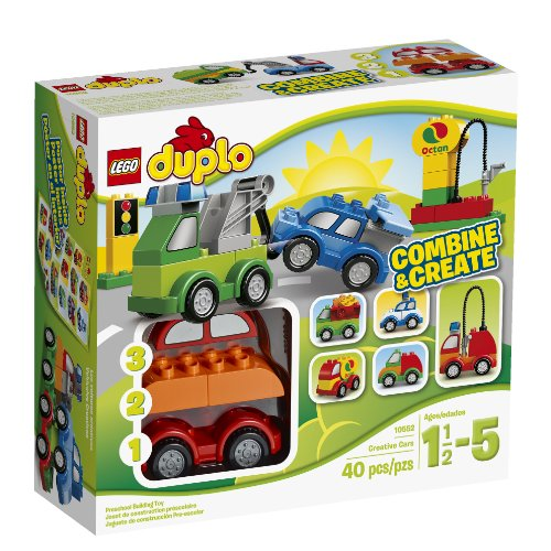 LEGO DUPLO My First Creative Cars Building Set