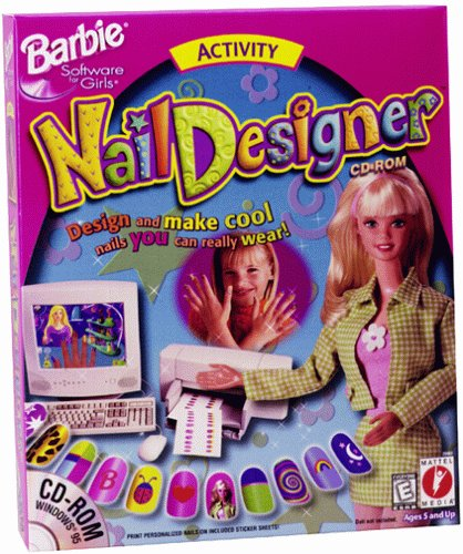 Barbie Nail Designer - Pc back-646014
