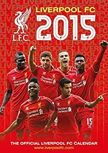 Liverpool Fc Official 2015 Calendar + Liverpool Fridge Magnet by DANILO