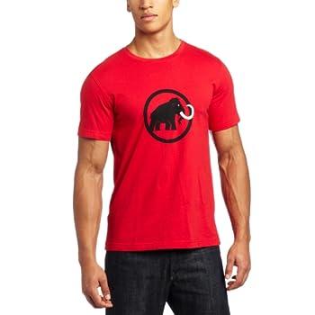 MAMMUT Logo Tee shirt manche courte homme noir