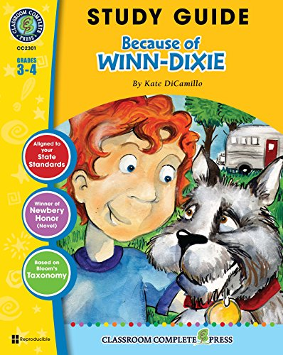 study-guide-because-of-winn-dixie-english-edition